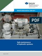 DGUV Information 209-071 English