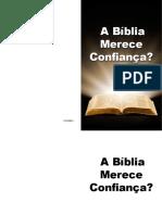 Pcb a Biblia Merece Confianca