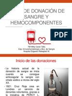 Clase 2. Tipos de Donación de Sangre y Hemocomponentes