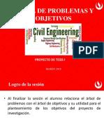 Árbol de Problemas y Objetivos para tesis