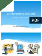 1-Introducción Al Mantenimiento Industrial - Mejorado