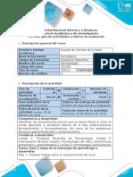 Guia de Actividades y Rúbrica de Evaluación - Fase 1 - Realizar Trabajo Reconocimiento Del Curso-Actual