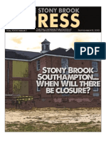 The Stony Brook Press - Volume 32, Issue 1