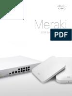 Cisco Meraki Solution Brochure 2014
