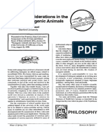Ethical Considerations in the Use of Transgenic Animals-RaymondGiraud