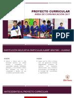 Proyecto Curricular - COMUNICACIÓN 2017 - Ejecución
