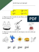 Guía de la g