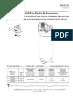 Manual - Partes y Especificaciones - Compresor Power Mate Cl6506016