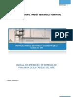 Manual de operacion de Sistemas de Vigilancia de la Calidad del Aire.pdf