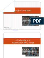 1. Introducción Planificación de Fabricas