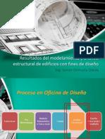 2.2 Resultados Del Modelamiento y Análisis Estructural de Edificios Con Fines de Diseño