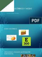 Acido Acetico y Ascorbico