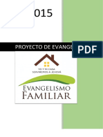 Evangelismo Familiar Yo y Mi Casa Serviremos a Jehova