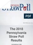 Pennsylvania Straw Poll 2018