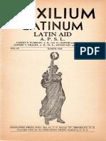 Auxilium latinum IV