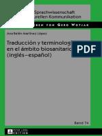 Traducci n y Terminolog a en El Mbito Biosanitario Ingl s Espa Ol
