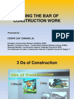 2a Improving the Working Conditions of Construction Workers From 3D to Decent Work