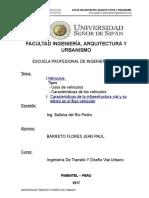 Barreto Flores Jean Paul - Ing Transito