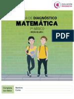 Prueba Matematica Diagnostico Color