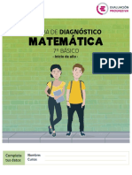 Prueba Matematica Diagnostico Color