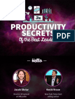 Productivity Slideshare Light 160225164108