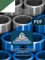 Diámetros y pesos de tuberias de ACERO.pdf