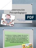 Intervención Psicopedagogica