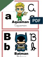 alfabeto personagens atualizado