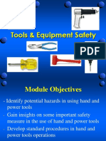 3 Hand & Power Tools Safety
