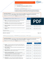 Inventario Neurospiquiátrico - NPI Q B5