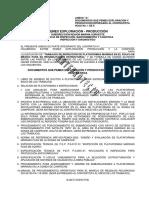 Informacion de Tirantes y Coordenadas de Plataformas de Pemex