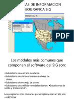 Sistemas de Informacion Geografica Sig}