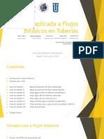 CFD Aplicada a Flujos Bifásicos en Tuberías, Felipe Muñoz, Ing. Química, Unv. de Los Andes, 2015