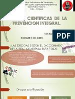 Presentación en Powerpoint Bases Científicas de La Prevención Integral CNEL GARCIA MARYCRUZ