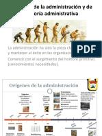 Evolución de La Administración y de La Teoría