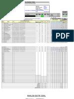 Analisis Butir Soal Excel