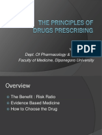 1. the Principles of Drugs Prescribing & Drug Interaction