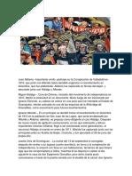 Personajes Importantes de La Independencia de México