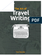 Art of Travel Writing Guide by Tim Neville