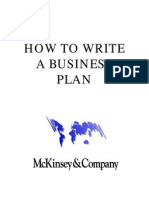 McKINSEY GUIDE to Business Plan