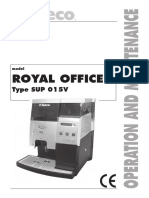 Saeco Royal Office User Manual
