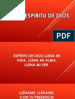 ESPIRITU DE Dios.pptx