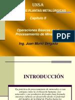 Capitulo 2 Operaciones Basicas en El Procesamineto de Minerales
