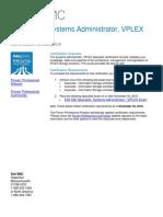 E20 562 VPLEX Specialist Exam