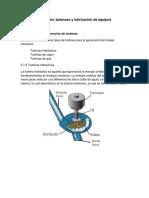 Clasificacion y Operacion de Turbinas