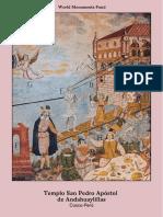 20180130 Andahuaylillas Book