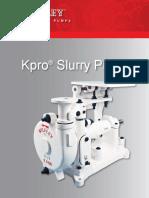 Slurry Pump the Kpro