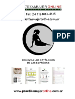 Catálogo PRACTIKA MUJER ONLINE