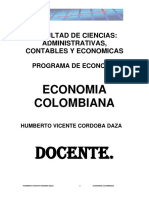 Unidad 3 Incidencia Del Cafe en La Economia Colombiana . 1-A