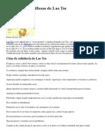 75 Frases Maravillosas de Lao Tse